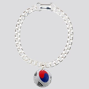 South Korea world cup soccer ball Charm Bracelet,
