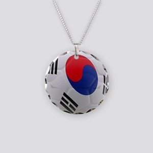 South Korea world cup soccer ball Necklace Circle