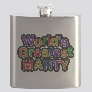 Worlds Greatest Marty Flask