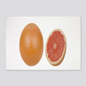 Grapefruit 5'x7'Area Rug