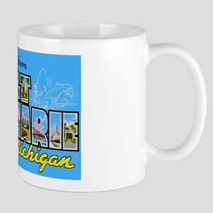 Sault Ste Marie Michigan Mug