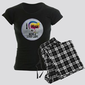 I Dream of Being A Lunch Lad Women's Dark Pajamas