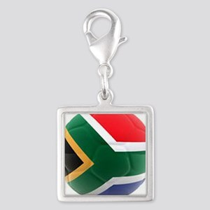 South Africa world cup soccer ball Silver Square C