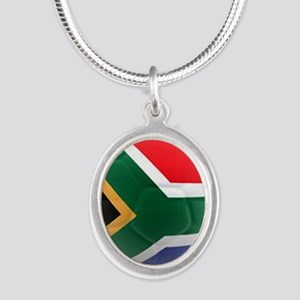 South Africa world cup soccer ball Silver Oval Nec
