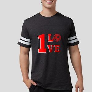 1 Love Mens Football Shirt