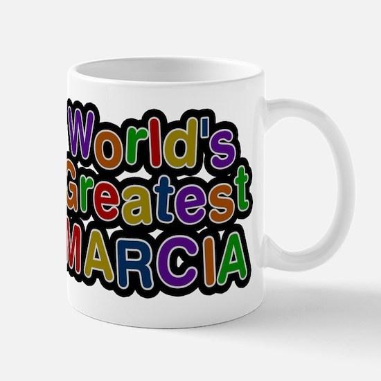 Worlds Greatest Marcia Mug
