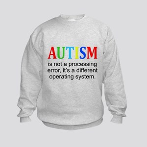 AutismIsNotAProcessingError Sweatshirt