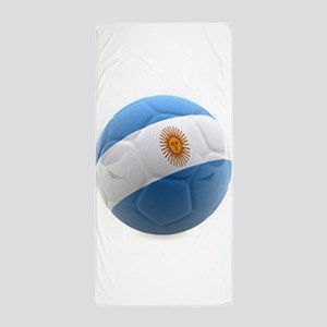 Argentina world cup soccer ball Beach Towel