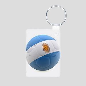 Argentina world cup soccer ball Aluminum Photo Key