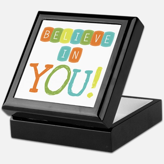 Believe in YOU Keepsake Box