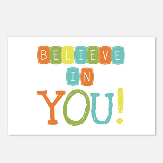 Believe in YOU Postcards (Package of 8)