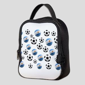 Argentina world cup soccer balls Neoprene Lunch Ba