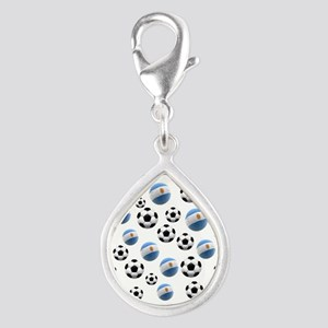 Argentina world cup soccer balls Silver Teardrop C