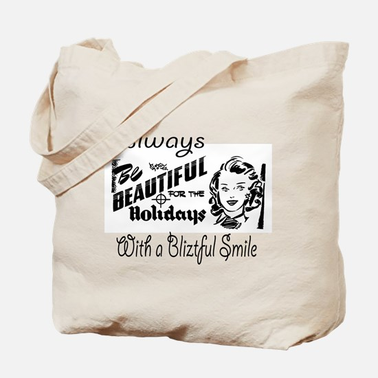 Always Be Beautiful Retro Sign Tote Bag