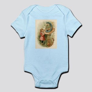 Alice and the Caterpillar Victorian art Body Suit