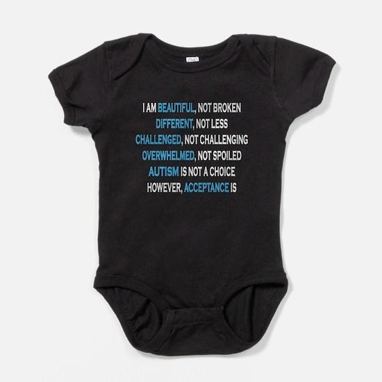 AutismIsNotAChoice Baby Bodysuit