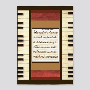 Piano Keys Frame Border with my song Keep Of The P