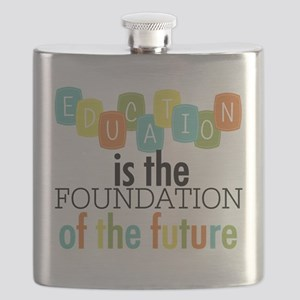 Education is the Foundation Flask