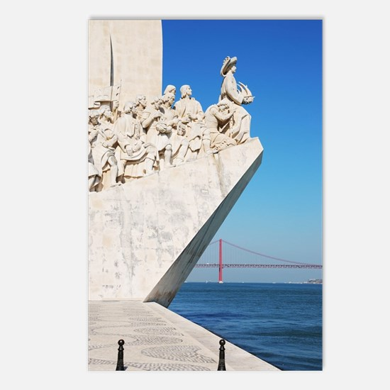 Monument to the Discoveri Postcards (Package of 8)