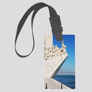 Monument to the Discoveries Large Luggage Tag
