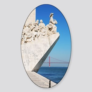Monument to the Discoveries Sticker (Oval)