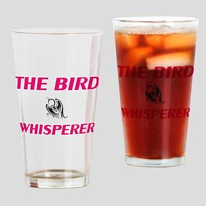 The bird Whisperer Drinking Glass