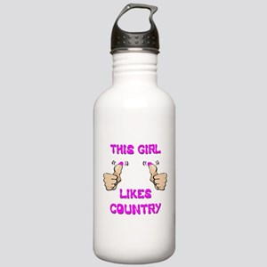 This Girl Likes Country Stainless Water Bottle 1.0