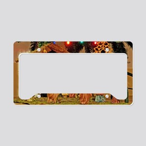 Nativity scene License Plate Holder