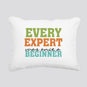 Every Expert Once a Beginner Rectangular Canvas Pi