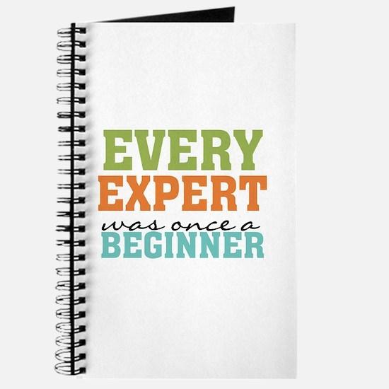 Every Expert Once a Beginner Journal