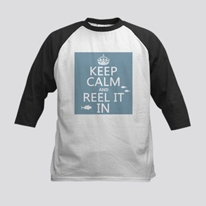 Keep Calm and Reel It In (fishing) Baseball Jersey
