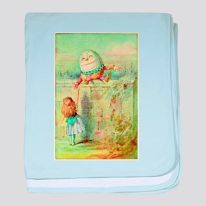 Alice and Humpty Dumpty color illustration baby bl