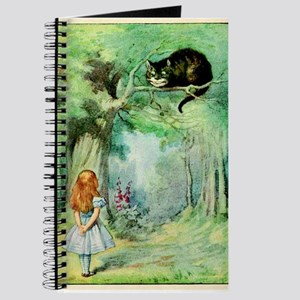 Alice in Wonderland the Cheshire Cat vintage art J