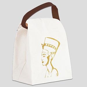 Nefertiti Egyptian Queen Canvas Lunch Bag