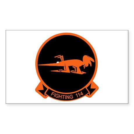 VF-114 Aardvarks Rectangle Sticker