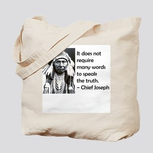 Truth Quote Tote Bag