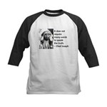 Truth Quote Kids Baseball Jersey