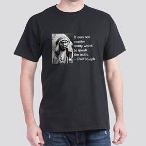 Truth Quote Dark T-Shirt