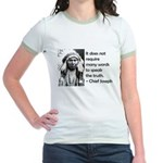 Truth Quote Jr. Ringer T-Shirt