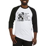 Truth Quote Baseball Jersey