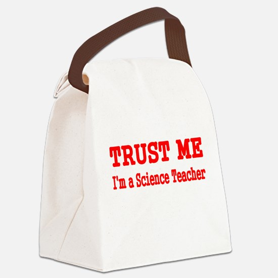 Trust me Canvas Lunch Bag