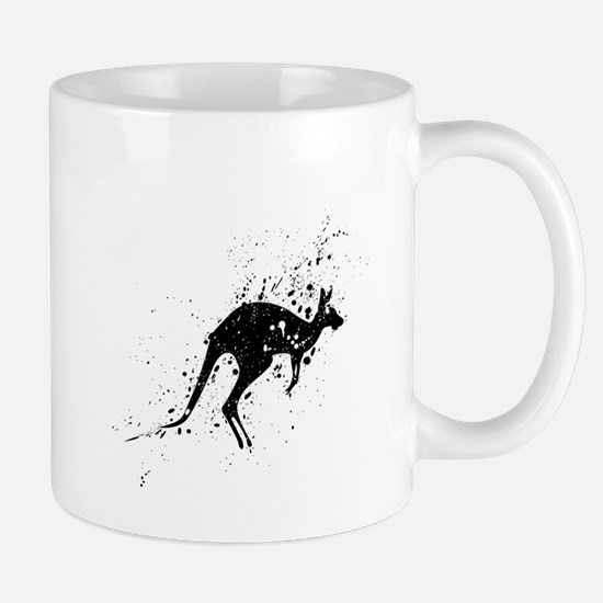 Cute Boxing kangaroo Mug