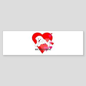 Bichon Frise Sticker (Bumper)