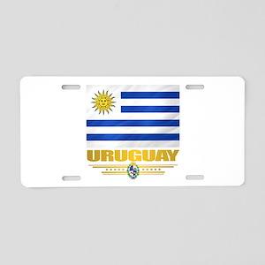 Uruguay Flag Aluminum License Plate