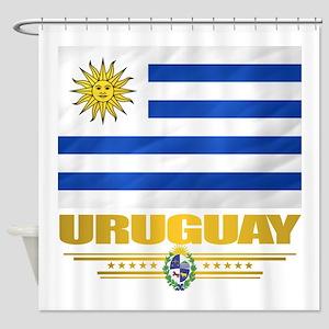 Uruguay Flag Shower Curtain