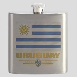 Uruguay Flag Flask