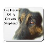 The Heart Of A GSD......Mousepad