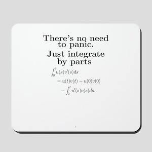 Integration by parts Mousepad