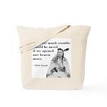 Open Hearts Tote Bag