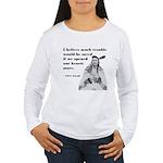 Open Hearts Women's Long Sleeve T-Shirt